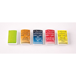 Serie 2 - Pastilla Completa de acuarela extrafina