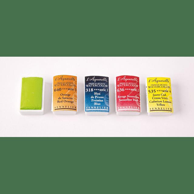 Serie 4 - Pastilla Completa de acuarela extrafina