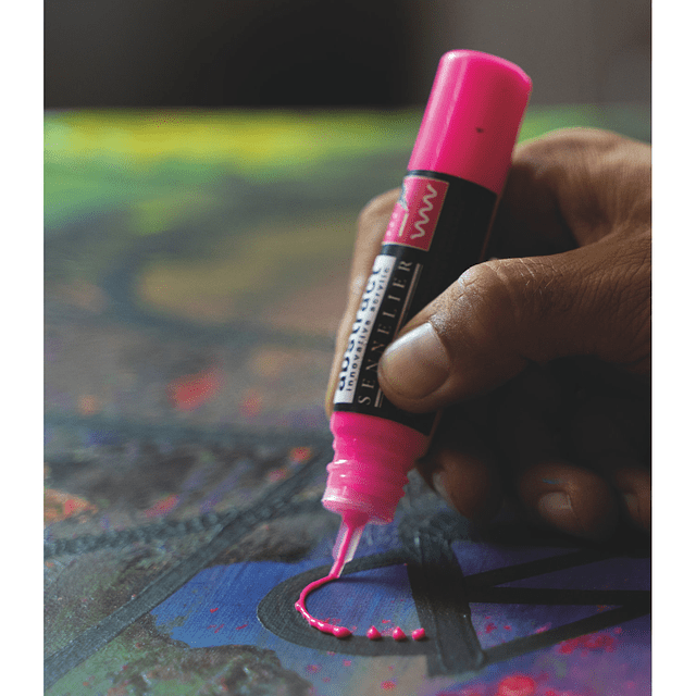 Sennelier Abstract Acrylic 3D liner 27ml - con boquilla