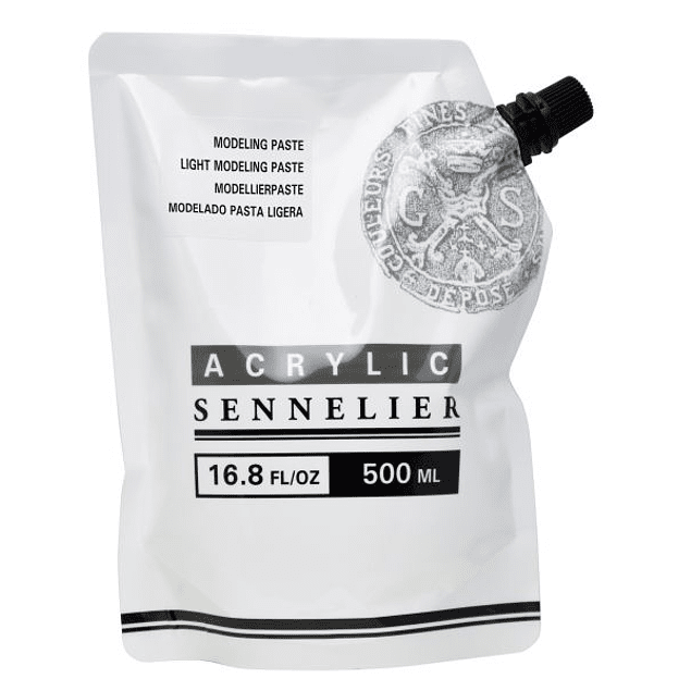 Pasta de modelado acrílica Abstract de Sennelier