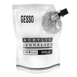 Gesso semi-absorbente blanco Sennelier