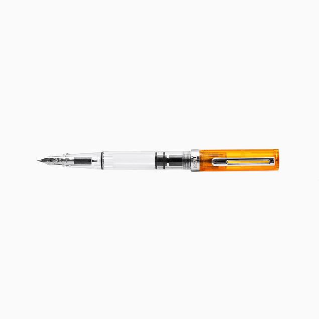 TWSBI ECO Fountain Pen - Transparent Orange (Special Edition)