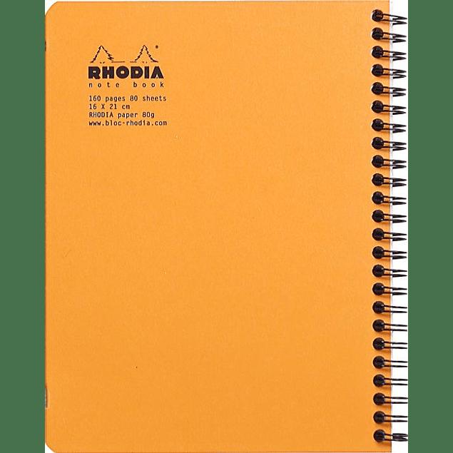 Cuaderno Doble Espiral - 16 x 21 cm - (3 formatos)