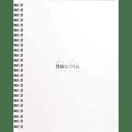 CUADERNO RHODIA A5 + cuadros 5x5 Blanco