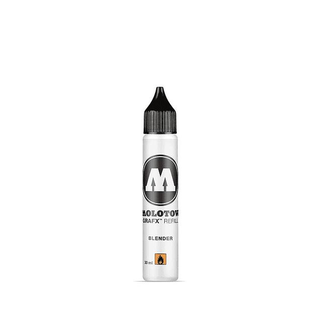 Molotow Aqua Refill Blender Pro Medium, tinta de recarga, 30 ml