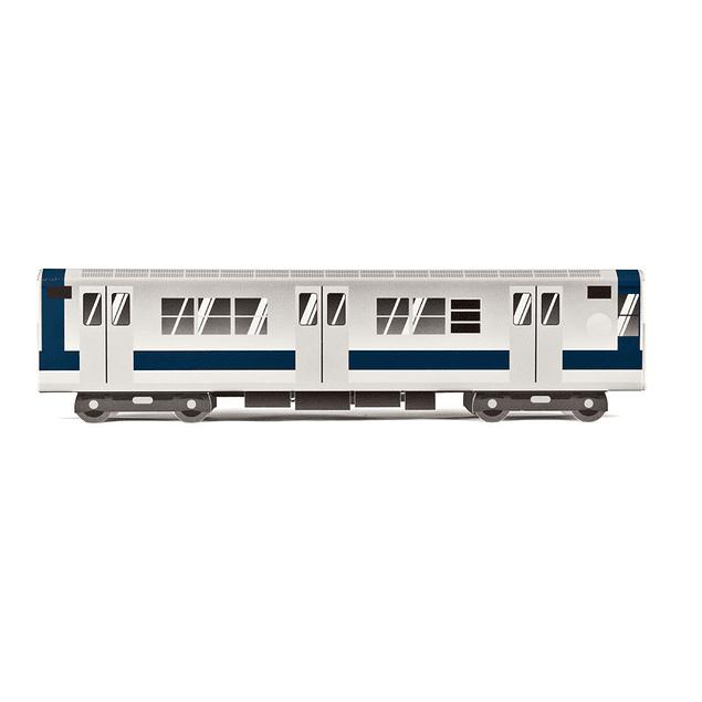 Cardboard wagon Mini Subwayz Theme: NYC Train