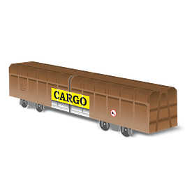 Cardboard wagon Mini Subwayz Theme: