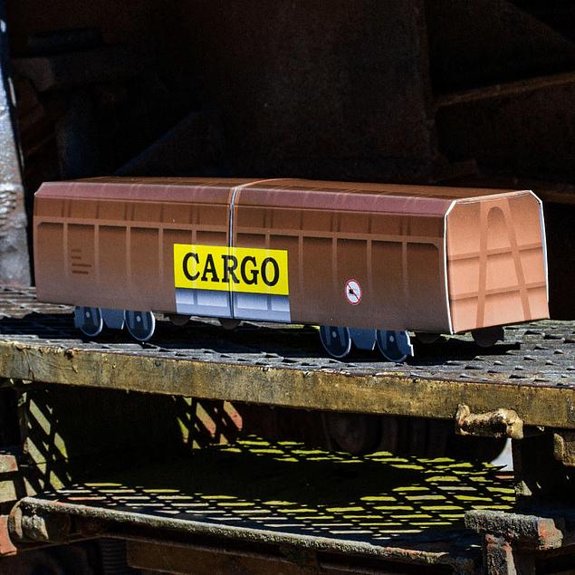 Cardboard wagon Mini Subwayz Theme: