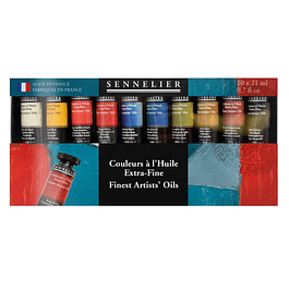 Sennelier Fine Artists 'Oils 10x 21ml Tubes