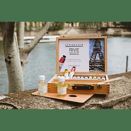 Caja de madera óleo RIVE GAUCHE