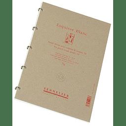 Block Bosquejo Blanco (D1) (3 tamaños)