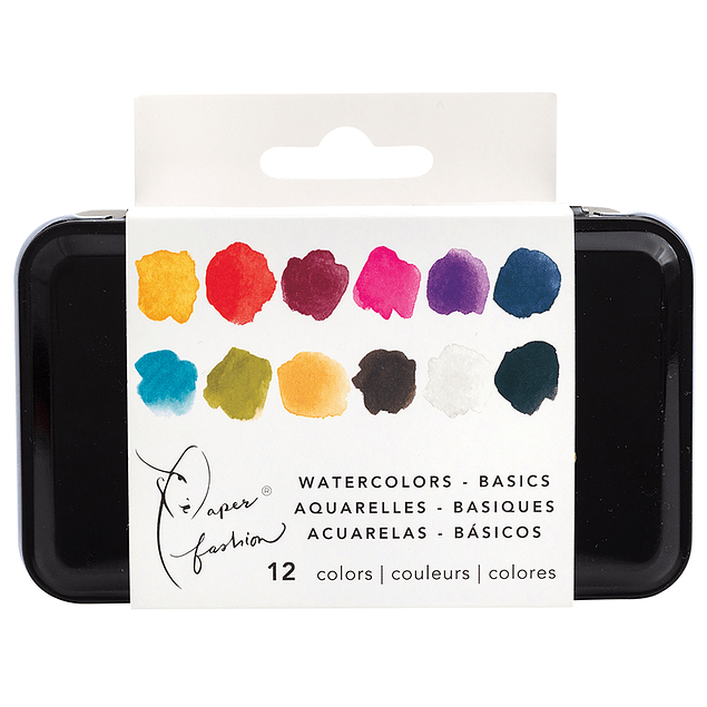 Paper Fashion Collection - Watercolor - Basics