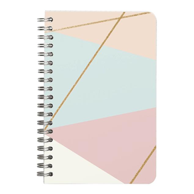 Mikado, cuaderno con espiral de 11 x 17 cm, líneas