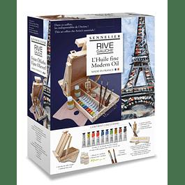 Rive Gauche pintura al óleo Sennelier - caja de lujo