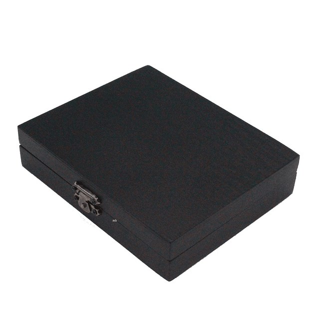 Sennelier La petite Aquarelle pintura de acuarela caja de madera negra 1/2 pastillas