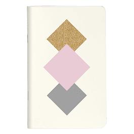 Mikado, cuadernos cosidos de 7,5 x 12 cm, 48 páginas, lisos