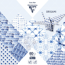 ORIGAMI pack 60 hojas 15x15 - Shibori