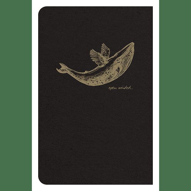 Flying Spirit – Cuaderno de líneas, 9 x 14 cm, 96 páginas, marfil 90g