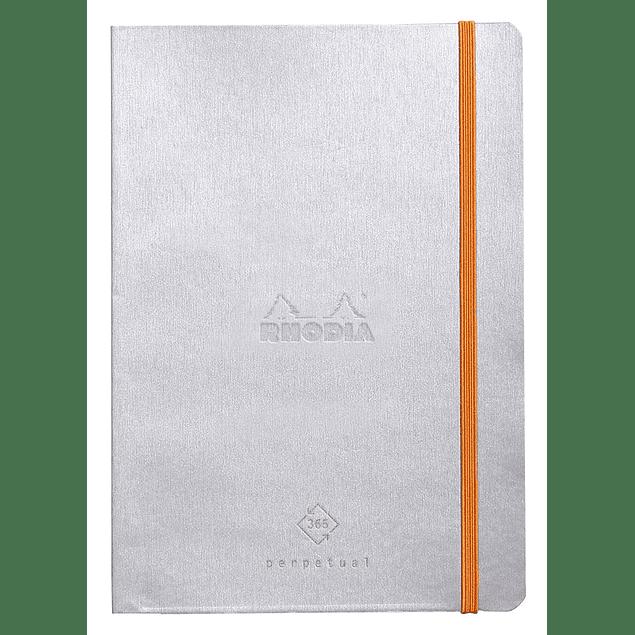 Rhodia Perpetual Planner - 14,8 x 21 cm - Color Plata