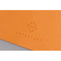 Perpetual 14,8 x 21 cm - Color Turquesa