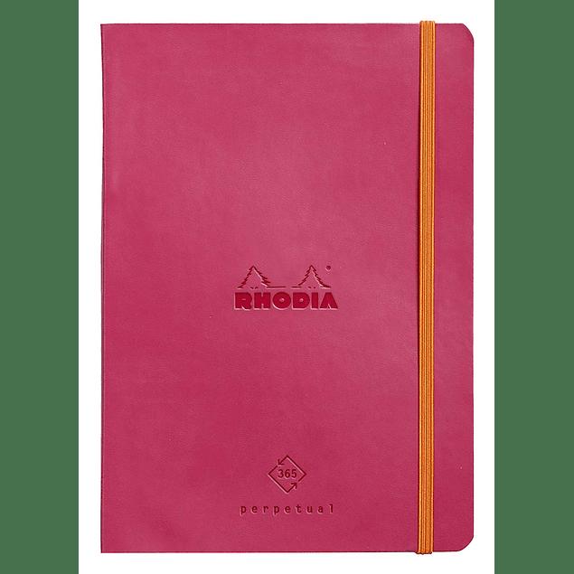 Rhodia Perpetual Planner - 14,8 x 21 cm - Color Frambuesa