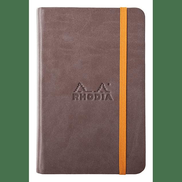 Rhodiarama A6 96 páginas, croquis, Chocolate