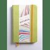 Rhodiarama A6 96 páginas, croquis, Anís