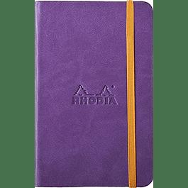 Rhodiarama A6 96 páginas, croquis, Morado