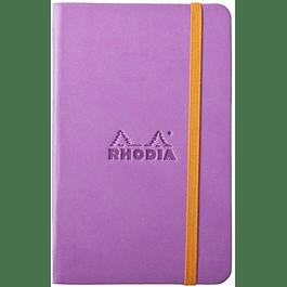 Rhodiarama A6 96 páginas, croquis, Lila
