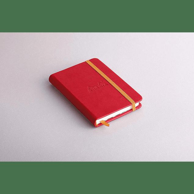 Rhodiarama A6 96 páginas, croquis, Amapola
