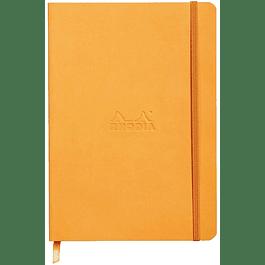 Rhodiarama WebNotebook - A5-21 x 15 cm, color Naranjo
