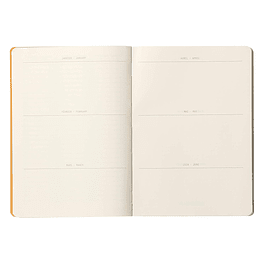 GoalBook - Color Zafiro
