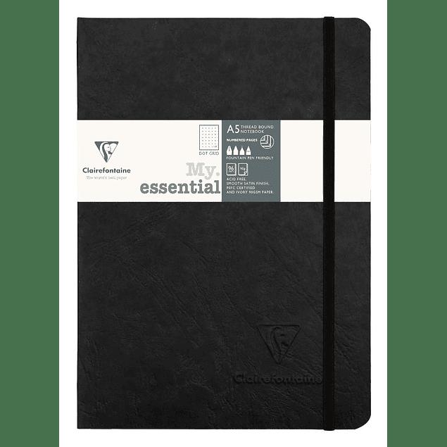 Cuaderno Hojas Marfil con puntos - 14,8 x 21 cm (Colores)