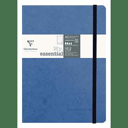 My Essential Age Bag A5 dot, color Azul