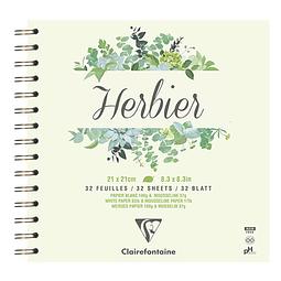 Cuaderno espiral Herbarium para caligrafía - (2 tamaños)