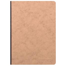 Cuaderno de tapa dura Age Bag 14, 8 x 21 cm, 192 páginas de puntos, color: tabaco