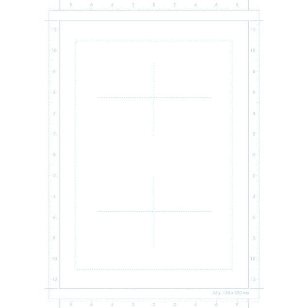 Papel Manga Sketch con Marco Avanzado - (2 tamaños)