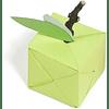 Paquete de papel Origami, 80g, 20x20cm - Colores variados de neón, 100 hojas