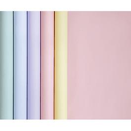Papel de regalo 90 g 5 x 0.35 m Práctico en formato pequeño 1 paquete Colores variados Colores pastel