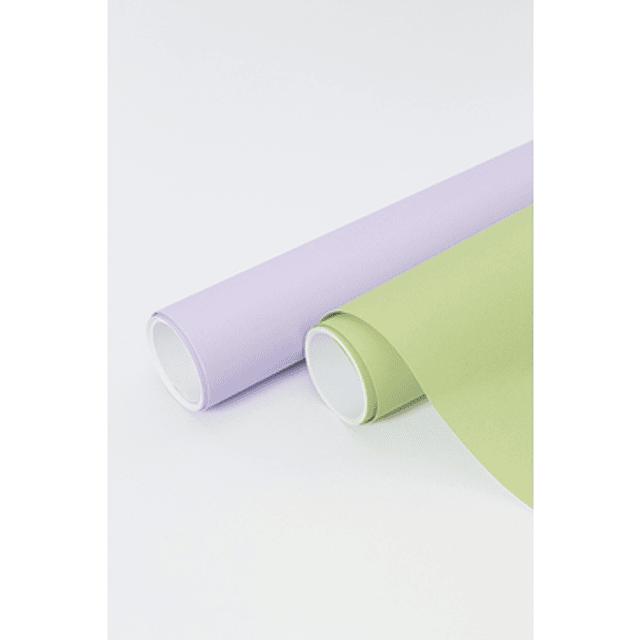Papel de regalo - 5 m x 0.35 m Colores pastel
