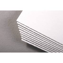 Pliego de acuarela prensada en frío, 640 g, 56 x 76 cm, 10 hojas