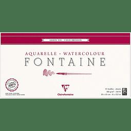"""Bloc """"Fontaine"""" para Acuarela - 20 x 40 cm"""