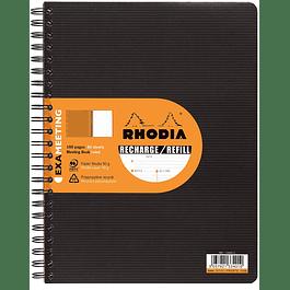 Repuesto Rhodia ExaMeeting, A4 +  21 x 31,8 cm