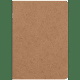 Cuaderno A5 Age - 14.8 x 21 cm, Hojas Blancas, Color Havana
