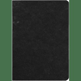 Cuaderno A5 Age - 14.8 x 21 cm, Hojas Blancas, Color Negro