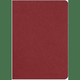 Cuaderno A5 Age - 14.8 x 21 cm, Hojas Blancas, Color Rojo