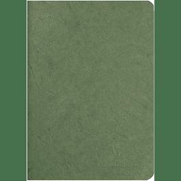 Cuaderno A5 Age - 14.8 x 21 cm, Hojas Blancas, Color Verde