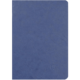 Cuaderno A5 Age - 14.8 x 21 cm, Hojas Blancas, Color Azul