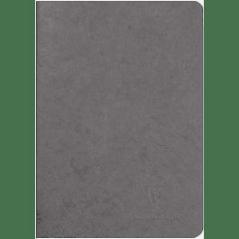 Cuaderno A5 Age - 14.8 x 21 cm, Hojas Blancas, Color Gris