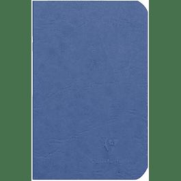 Cuaderno A6 Age - 9 x 14 cm, Hojas Blancas, Color Azul